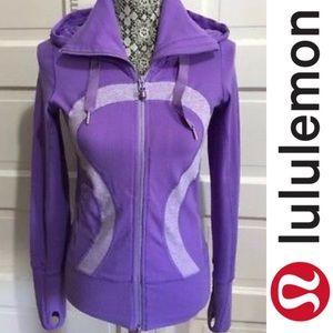 Lululemon Athletica Stride Lilac Purple Jacket